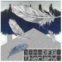 CD Cover for album 'Feather' by DFG Therapy